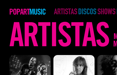 Sitio Oficial Pop Art Music